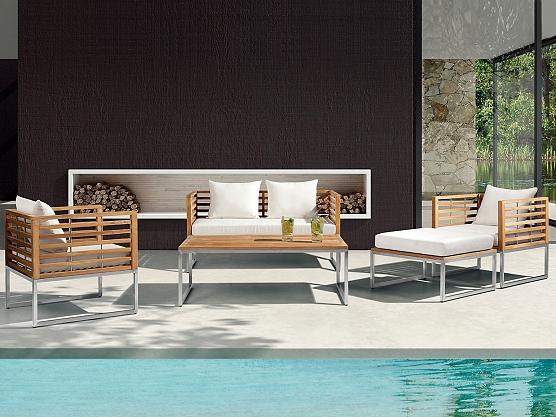 Nowoczesne Meble Ogrodowe Z Drewna :  poduszkami bermuda https www beliani pl meble ogrodowe meble