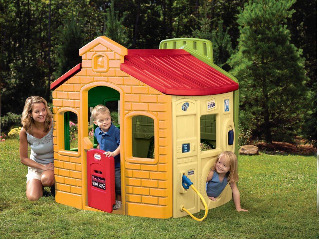Plastikowy domek ogrodowy do zabawy Little Tikes