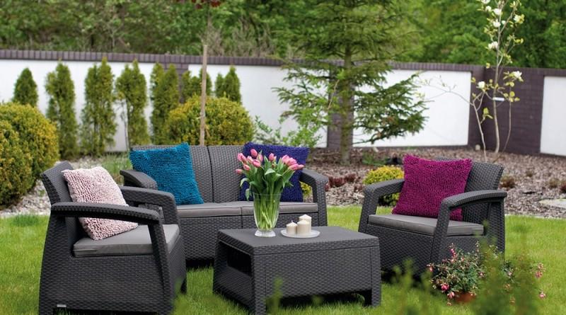 Urządzamy nowoczesny ogród, czyli przegląd mebli technorattanowych do ogrodu